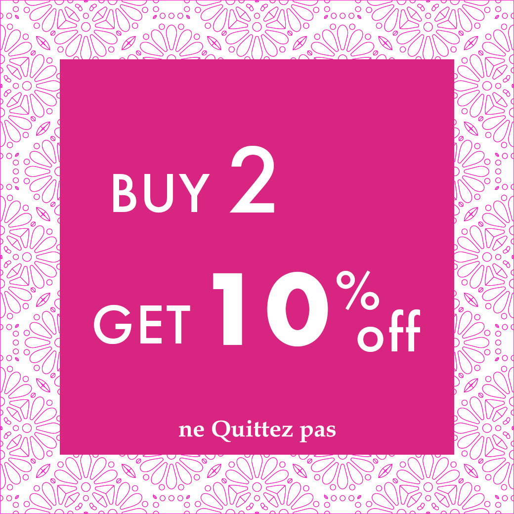 Buy 2 Get 10% OFF Campaign